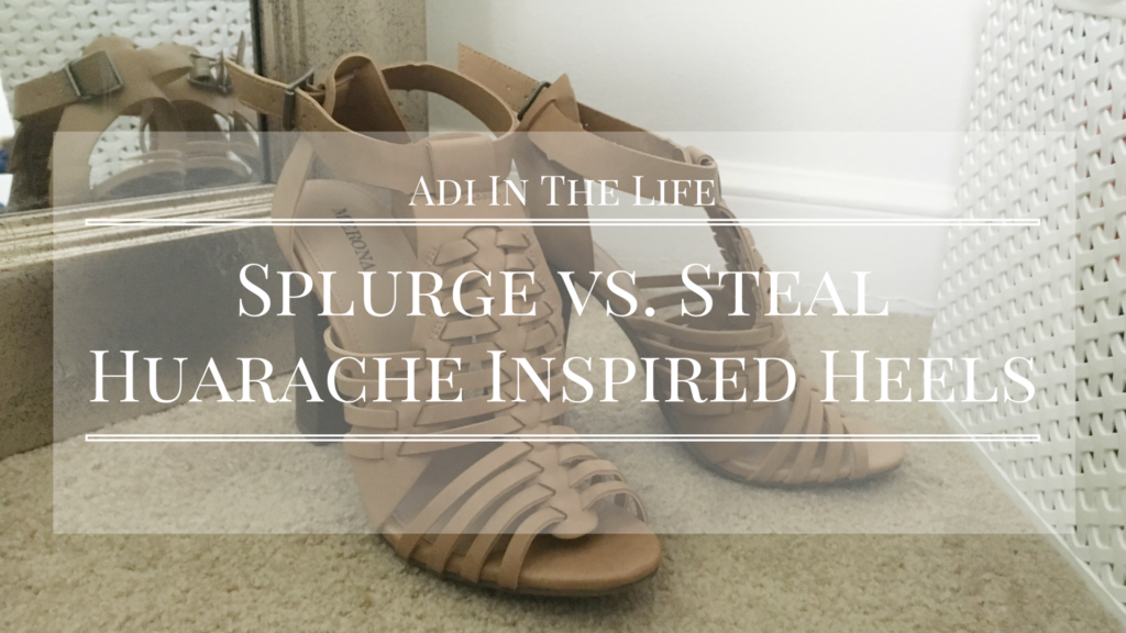Splurge vs. Steal: Huarache Inspired Sandals